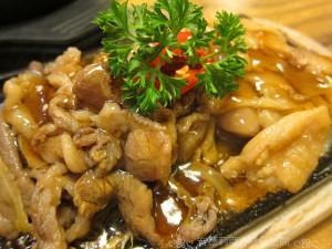 1013 鐵板雙拼:雞肉&牛肉 (韓食家)