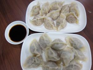 0214 山東牛肉芹菜水餃、羊肉水餃 (好客山東)